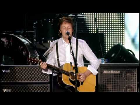 Paul McCartney Blackbird HD 1080p Good Evening New York City