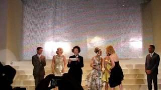 SATC2 ジャパン・プレミア・プレイベント・レッドカーペット 4人の挨拶