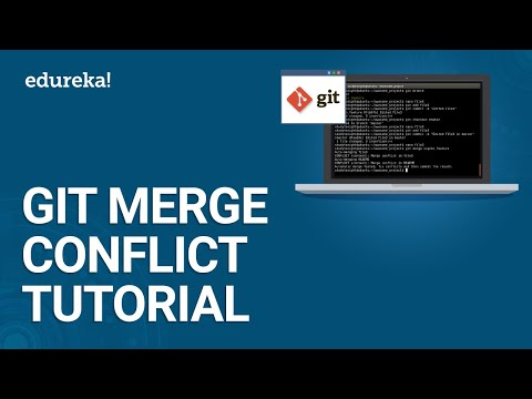 Git Merge Conflict Tutorial | Resolving Merge Conflicts In Git | DevOps Training | Edureka