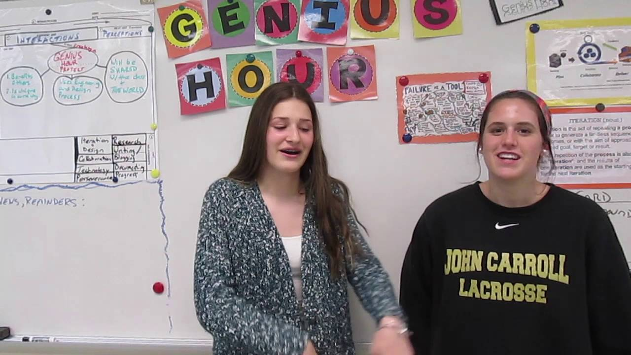 2016 Genius Hour Project Examples - under 2 minutes! - YouTube