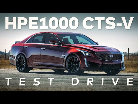 1000 HP CTS-V by Hennessey Performance // Sights and Sounds!