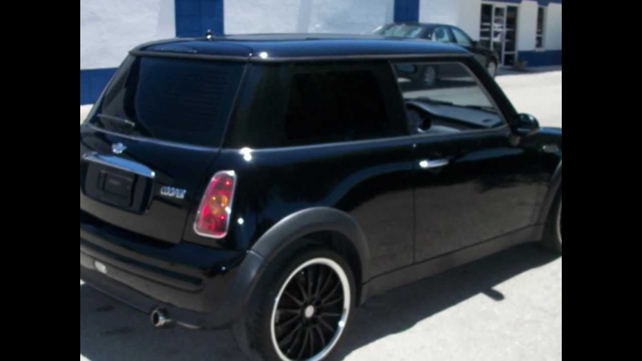 Cheap Used Cars For Sale >> 2004 Black Mini Cooper For Sale Cheap - $7,950 Sport ...