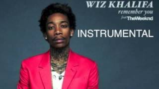 Wiz Khalifa ft the Weeknd-Remember You INSTRUMENTAL + DOWNLOAD