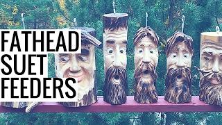 Fathead Suet Feeders for Your Back Yard Birds