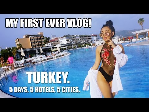 TRAVEL TO TURKEY || MY FIRST EVER VLOG!