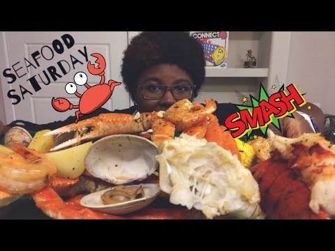 Seafood Boil FEAST MUKBANG! ⚠️🦀 | Crab, Spicy Lobster, Shrim