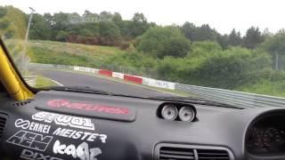 Honda Integra Turbo K20 DC2 - Nurburgring - 17.07.2016