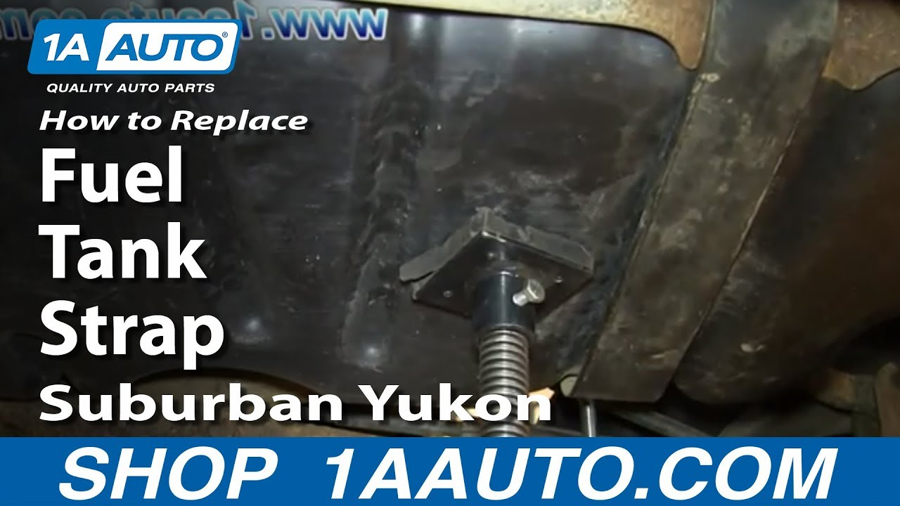 How To Replace Rusty Fuel Tank Straps 2000 06 Suburban Yukon Xl Escalade Esv You