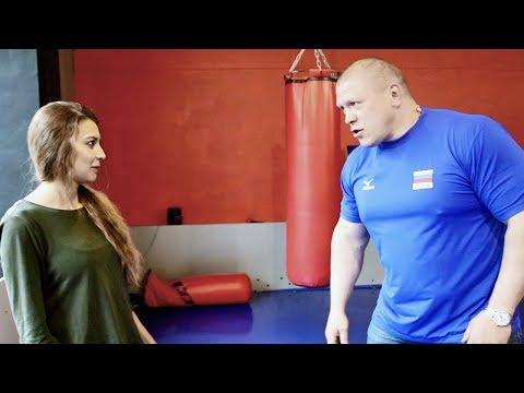 Как правильно драться девушке с парнем