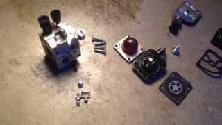 stihl fs45 carburetor repair