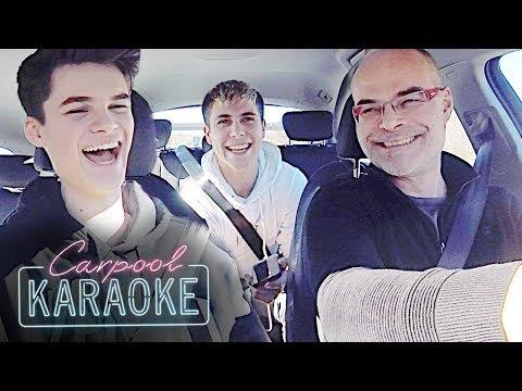 Unangenehme Fragen mit meinem Vater im Auto (Carpool Karaoke) | Oskar