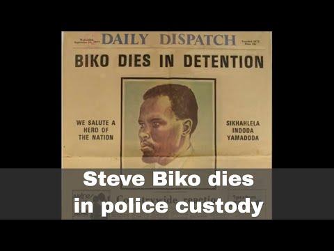 12th September 1977: Steve Biko dies of injuries sustained in police custody