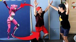 FORTNITE DANCE CHALLENGE!! w/ GP