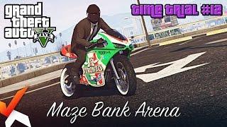 GTA V Online | Time Trial #12: Maze Bank Arena (Under Par Time)
