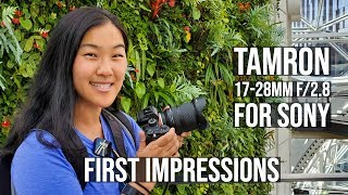Tamron 17-28mm f2.8 Lens with Sony A7R III - First Impressions + Video Test
