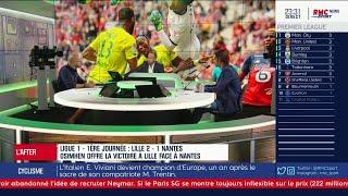 """Manardo sur Lille-Nantes : """"Osimhen, par son talent seul, a débloqué la situation"""""""