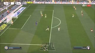 Fifa 16 'a hazırlık (Galatasaray - Fenerbahçe ) Türkçe Spiker (Fifa 15)