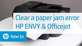 Fixing a Paper Jam on HP OfficeJet Pro 6900 Printers | HP
