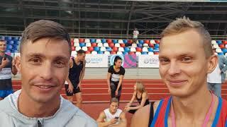 серебряные призеры Дмитрий Пискарев - фан-рулетка и Александр Елизаров - 400 м продвинутые атлеты