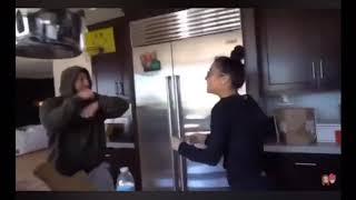 zane hijazi and mariah amato fighting each other compilation