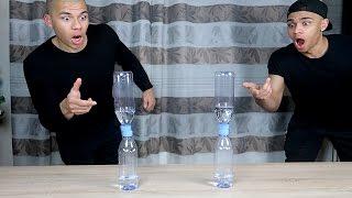 UNMÖGLICHE WATER BOTTLE FLIP TRICK SHOTS!! | PrankBrosTV