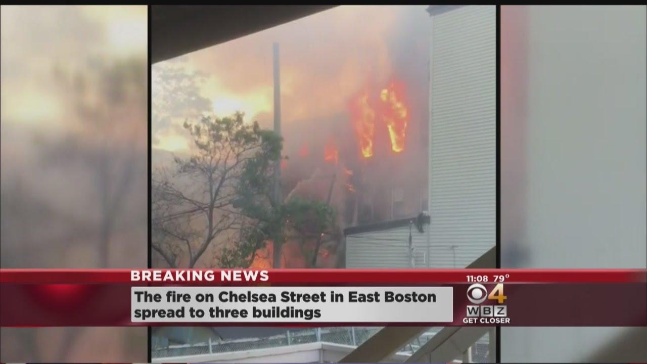 3 Buildings Damaged In 5 Alarm Fire In East Boston