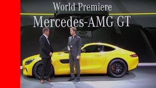 Mercedes AMG GT and GTS Unveiling