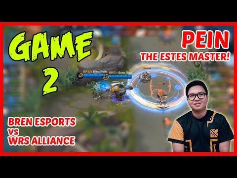 Pein Uses Estes! Bren Esports vs WRS Alliance | Game2 - MPL PH Season2 Week2 Day1