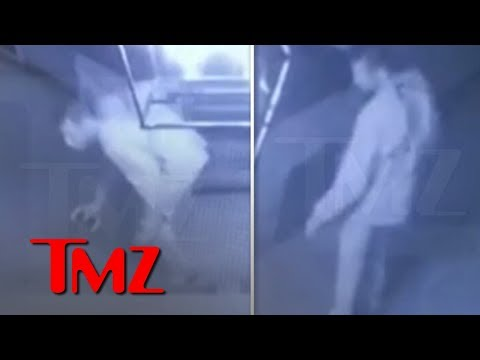 Chris Davis - Kim, Kanye, and Kylie's Prowler Caught on Surveillance Video!