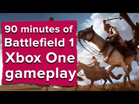 90 minutes of Battlefield 1 Xbox One gameplay (Open Beta)