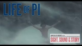 """Sound Editors Phil Stockton, Eugene Gearty, and Sam Miille, discuss the Storm from """"Life of Pi"""""""