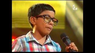 """Jack canta """"Esta es mi tierra""""   La Voz Kids Perú   Audiciones a ciegas   Temporada 3"""