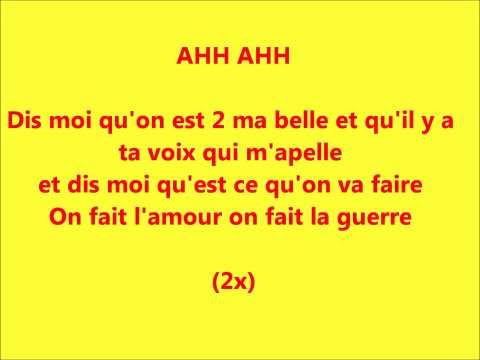 L'amour -Karim Ouellet- Paroles
