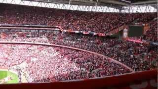 Liverpool v Everton FA Cup Semi Final Wembley, plus post match celebrations/interviews