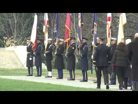 President of Italy at Arlington National Cemetery
