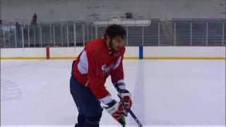 Alex Ovechkin Breakaway Practice