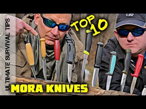 62531d234b KNIFE QUEST  Top 10 Best MORA Knives for Survival   Bushcraft   Camping    Hunting