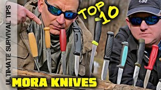 KNIFE QUEST: Top 10 Best MORA Knives for Survival / Bushcraft / Camping / Hunting