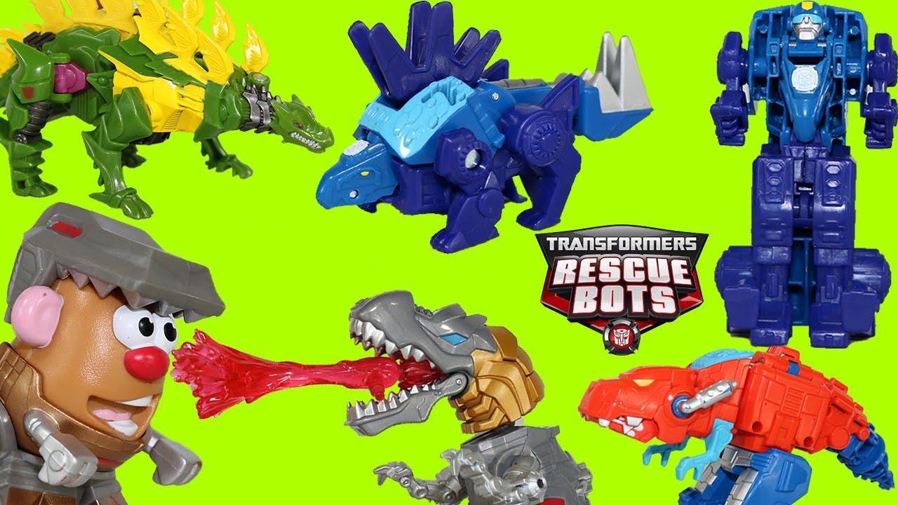 dinobots rescue bots