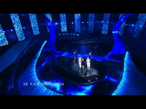 Eurovision 2008 Semi Final 2 18 FYR Macedonia *Tamara, Vr�ak and Adrijan* *Let Me Love You* 16:9 HQ