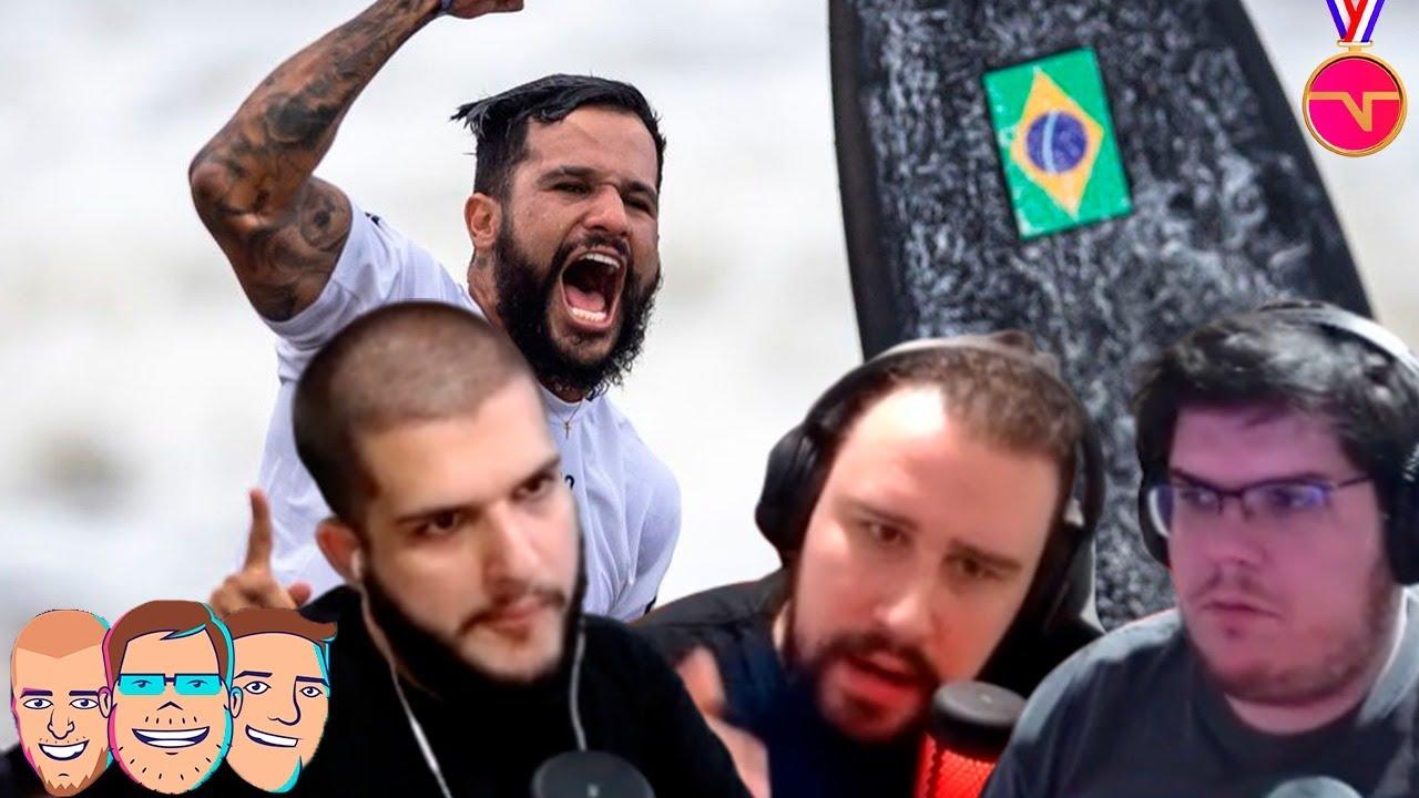 """""""O SURFE É CHATÃO, P!##@"""" CASIMIRO, BELTRÃO E CERTEZAS DEBATEM! - MELHORES MOMENTOS TNT SPORTS LIVE"""