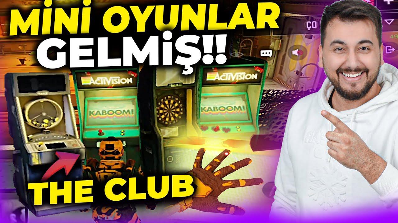OHAA ( THE CLUB ) MİNİ OYUNLAR GELMİŞ!! / COD MOBILE