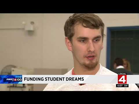"""Funding Student Dreams"" on WDIV-TV"