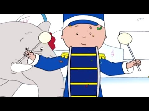 Caillou Full Episodes | Caillou's Music Lesson | Cartoon Movie | WATCH ONLINE | Cartoons for Kids
