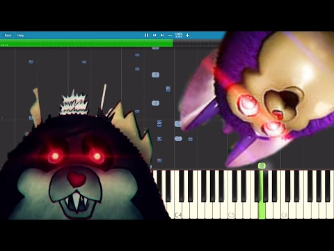 Tattletail Song - Turn The Final Page - DA Games - Piano Cover / Tutorial