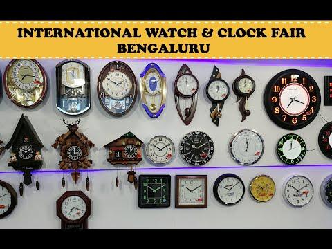 International Watch & Clock Fair   Palace Grounds   Bengaluru
