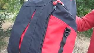 Обзор городского рюкзака из ткани кордура.