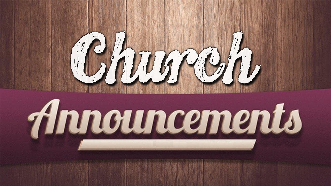 church announcements christ church worship center hyderabad cgti