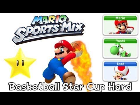 Mario Sport Mix - Basketball - Star Cup Hard (Co-Op)