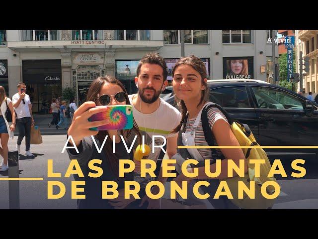 Las Preguntas de Broncano| Las fotos de Broncano